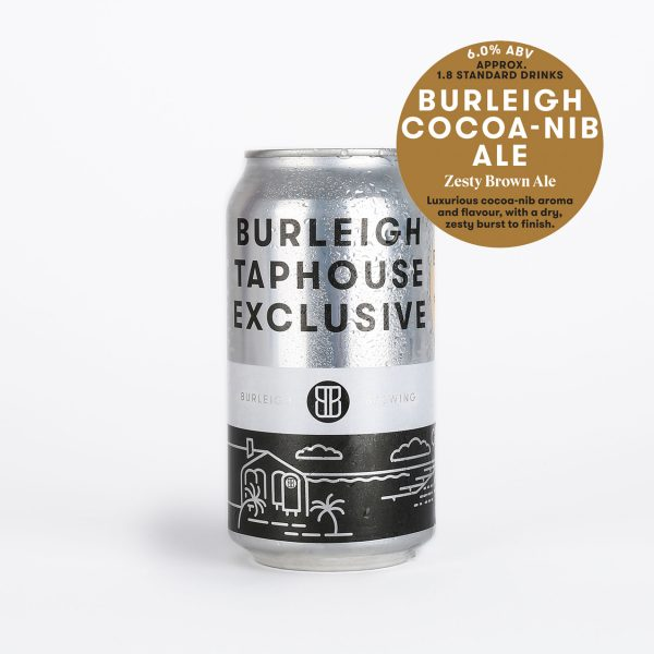 Burleigh Cocoa-Nib 375ml can