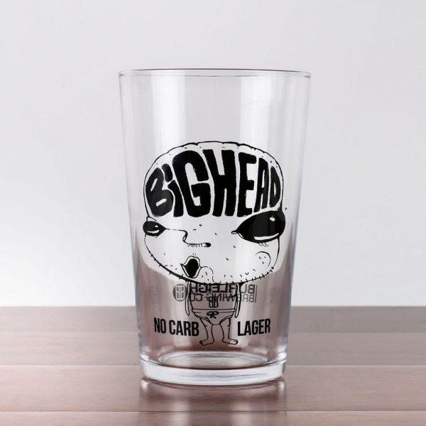 Burleigh BigHead Glass