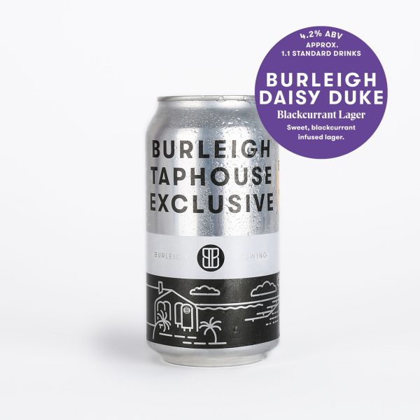 Burleigh Daisy Duke Blackcurrant Lager Can