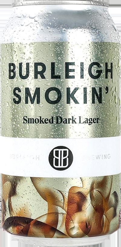 Burleigh Smokin' Dark Lager Can