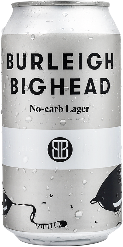 Burleigh Bighead Can No-Carb Lager